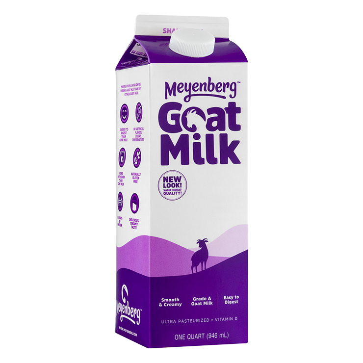 Fluid Whole Goat Milk